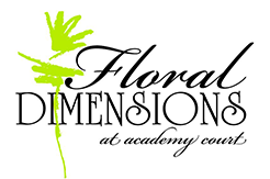 Floral Dimensions at Academy Court Footer Logo