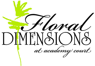 Floral Dimensions at Academy Court Logo
